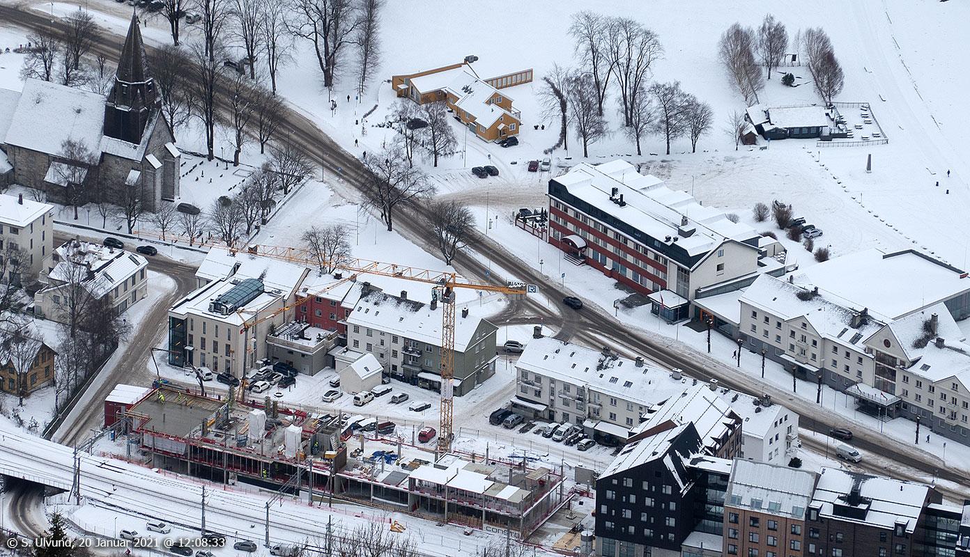 Park Hotel Vossevangen, Voss Prestegard, Minigolfen, Voss Sparebank, Vangskyrkja, Uttrågata, Gullfjordungsvegen