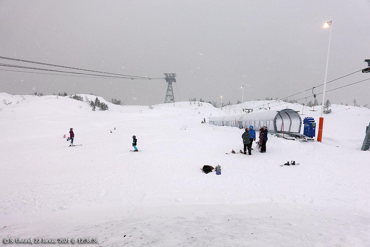 Voss Resort, Skibandet
