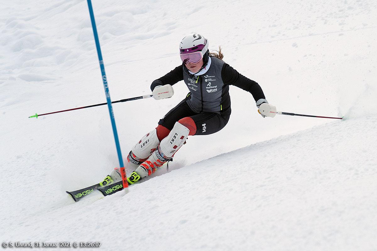 Slalåmtrening i Bavallen på Fischer Ski