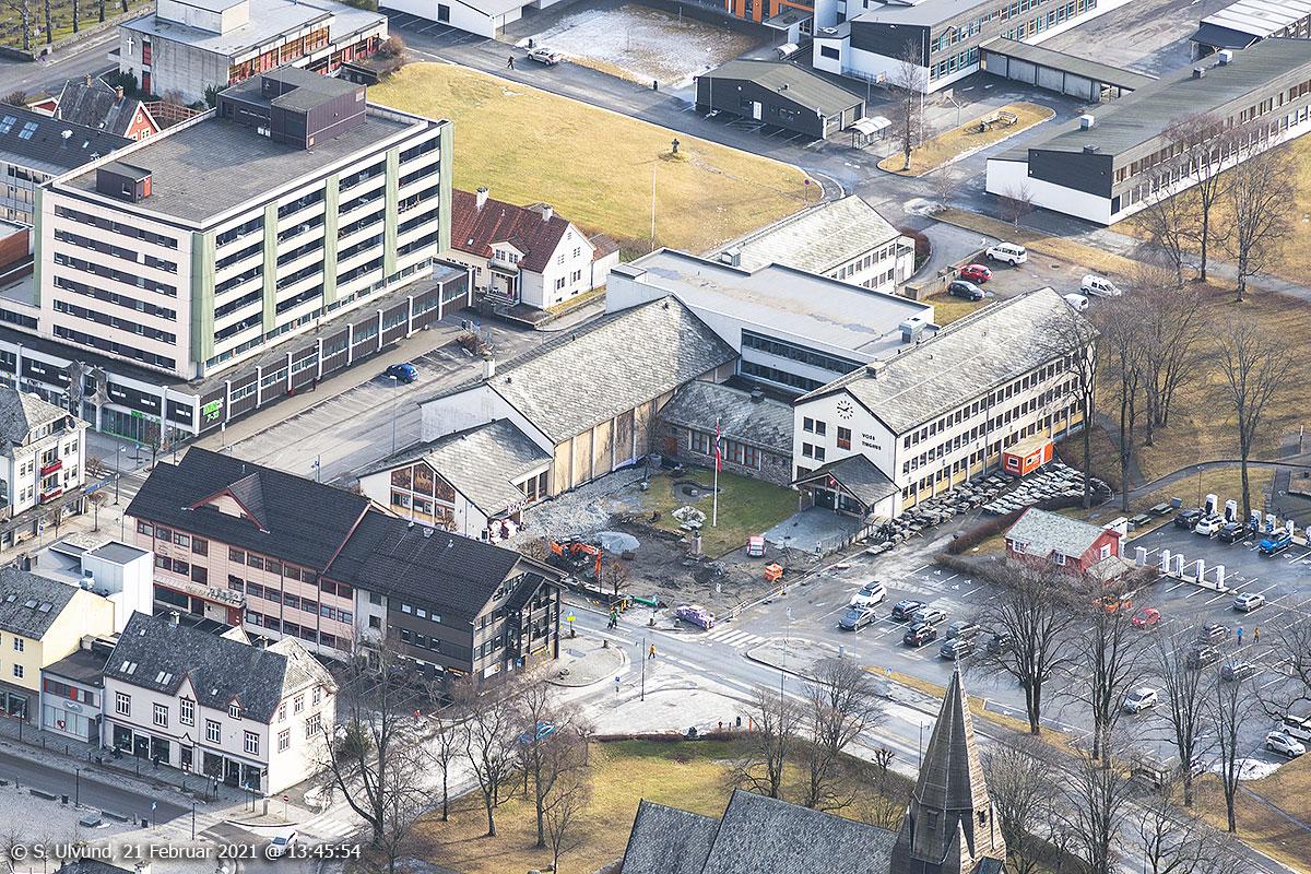 Sosialbygget Uttrågata Gamle Voss Kino